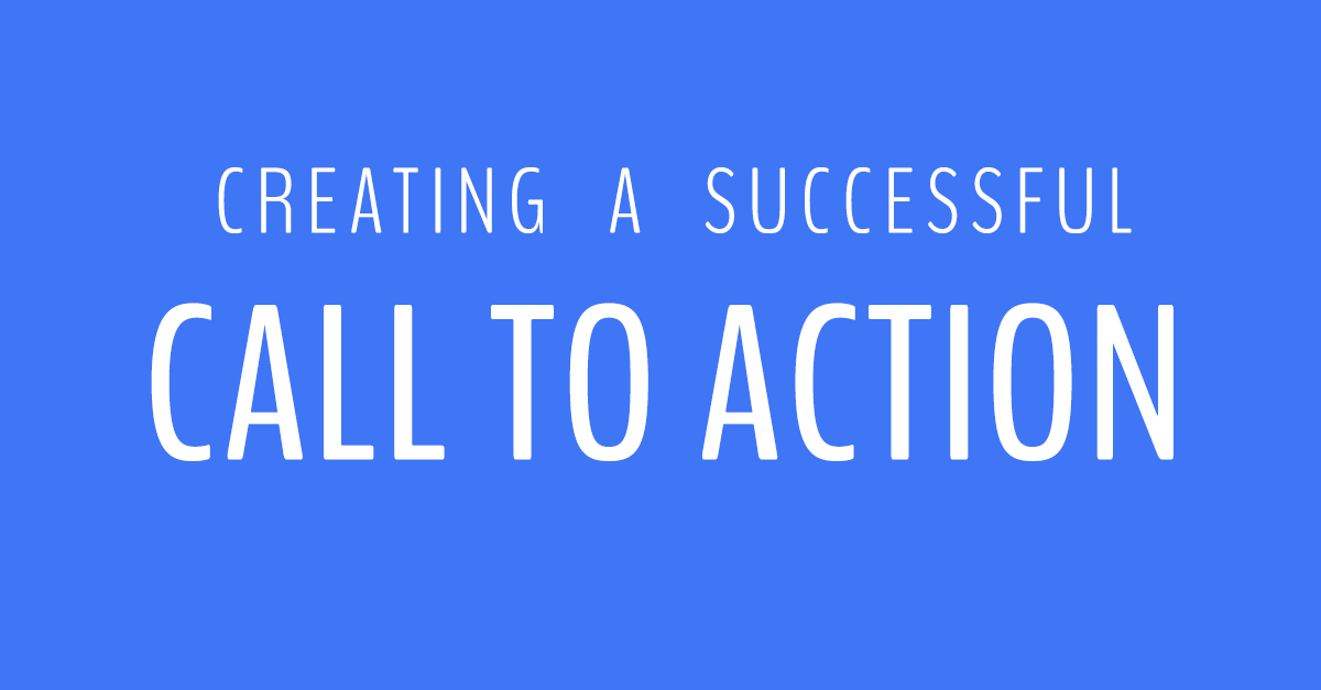 creating a successful call to action